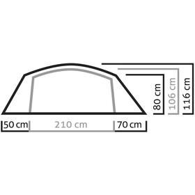SALEWA Sierra Leone II Tente, light grey/cactus